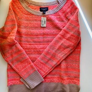 American Eagle Neon Sweater